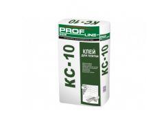 Клей влагостойкий для керамической плитки КС-10 Profline