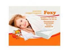 Комплект детский MatroLuxe Foxy одеяло 110х140 и подушка