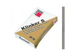 Кладочная смесь Baumit Klinker S серая для клинкерного кирпича