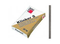 Кладочная смесь Baumit Klinker S темно-серая для клинкерного кирпича