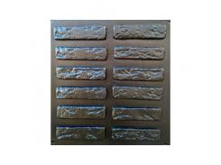 Форма фасадная №23 Декоративный камень 19,5х5 см АБС MF