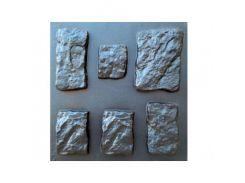 Форма фасадная №25 Декоративный камень 10х10 - 27х32 см АБС MF