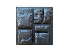 Форма фасадная №27 Декоративный камень 20х8 - 20х28 см АБС MF