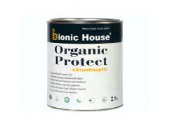 Масло-антисептик для дерева Bionic House Organic Protect Oil Серый