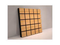 Акустическая панель Grid Грид 70 мм 50х50 см Дуб, ламинация