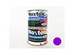 """Люминесцентная краска для оракала Silk Screen NoxTon """"Фиолетовая"""" (белая полупрозрачная, фиолетовое свеч.)"""