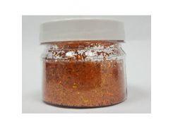 Глиттер голографический GG-15/1,0 мм (1/24) оранжевый Tricolor