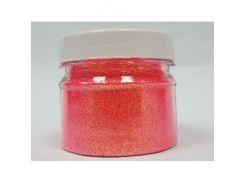 Глиттер флуоресцентный GFR/0,2 мм (1/128) красный Tricolor