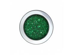 Глиттер GG/0,6 мм (1/40) зеленый Tricolor