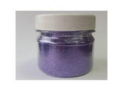 Глиттер GV/0,2 мм (1/128) светло-фиолетовый Tricolor