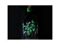 Краска флуоресцентная AcmeLight для стекла (2К) зеленая