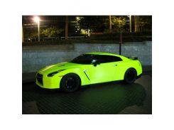 Краска флуоресцентная AcmeLight для металла (2К) желтая