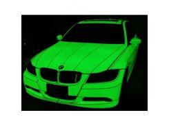 Краска флуоресцентная AcmeLight для металла (2К) зеленая