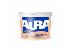 Краска для декоративного оформления фасадов и интерьеров Aura Dekor Struktur