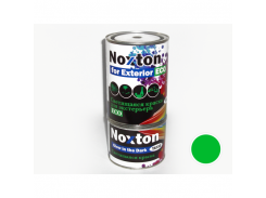 """Люминесцентная краска для экстерьера NoxTon """"Классика"""" (белая полупрозрачная, салатовое свеч.)"""