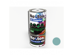 """Люминесцентная краска для экстерьера NoxTon """"Классика-2"""" (белая полупрозрачная, голубое свеч.)"""