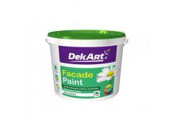 """Краска фасадная """"Facade Paint"""" DekArt матовая белая (База А)"""