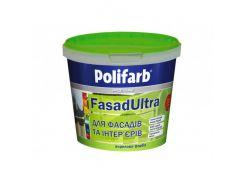 Высококачественная краска для фасадов и интерьеров Polifarb Фасадультра матовая белая