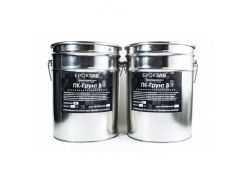 Двухкомпонентный эпоксидный грунт на водной основе ПК-Грунт В для бетона, дерева и минеральных поверхностей