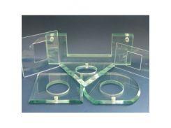Зенковка отверстий стекла 10-12 мм