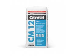 Клеящая смесь для керамогранита Gres Ceresit CM 12