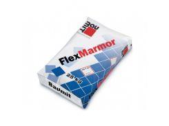 Клей для плитки Baumit FlexMarmor высокоэластичный белый