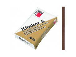 Кладочная смесь Baumit Klinker S коричневая для клинкерного кирпича