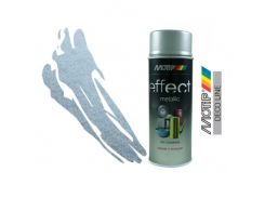 Эмаль аэрозольная с эффектом металлик Motip Deco Effect алюминий 400 мл