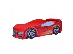 Кровать машина Audi красная 70х150 ДСП