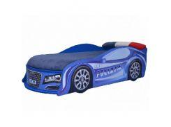 Кровать машина Audi полиция 70х150 ДСП