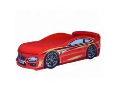 Кровать машина BMW красная 70х150 ДСП