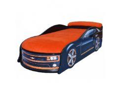 Кровать машина Camaro черная 70х150 ДСП