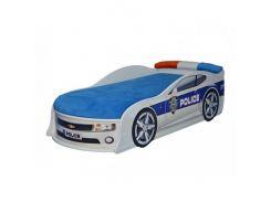 Кровать машина Camaro полиция 70х150 ДСП