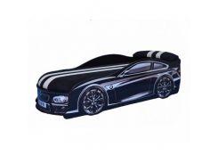 Кровать машина BMW черная 70х150 ДСП