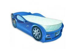 Кровать машина Jaguar синяя 80х170 ДСП