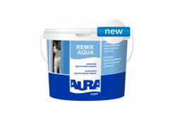 Эмаль акриловая глянцевая универсальная Aura Luxpro Remix Aqua