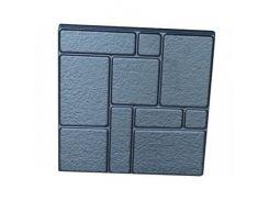 Форма плитки №7 Камни шагрень 40х40 АБС BF