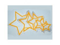 Декор для жидких обоев Звёзды набор 5 шт