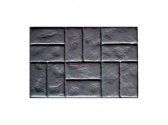 Форма для плитки Блок дорожный Римский камень 75х50 см АБС MF