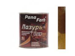 Лазурь для дерева лакирующая PanaFarb Лазурь Lux Темный дуб