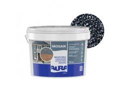 Штукатурка декоративная силиконовая Aura Luxpro Mosaik мозаичная M15 B201