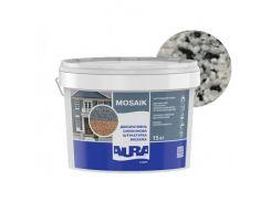 Штукатурка декоративная силиконовая Aura Luxpro Mosaik мозаичная M15 B220