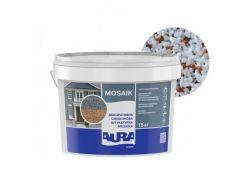 Штукатурка декоративная силиконовая Aura Luxpro Mosaik мозаичная M15 B221