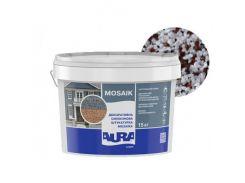 Штукатурка декоративная силиконовая Aura Luxpro Mosaik мозаичная M15 B222