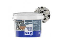Штукатурка декоративная силиконовая Aura Luxpro Mosaik мозаичная M15 B225