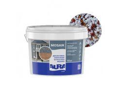 Штукатурка декоративная силиконовая Aura Luxpro Mosaik мозаичная M15 B227
