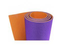 Коврик-каремат Izolon Optima Plus 180х60 оранжево-фиолетовый
