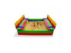 Детская песочница цветная-11