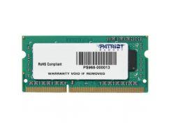 Модуль памяти для ноутбука SoDIMM DDR3 4GB 1333 MHz Patriot (PSD34G133381S)