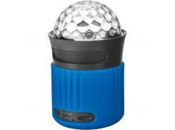 Акустическая система Trust Dixxo Go Wireless Bluetooth Speaker with party lights - blue (21347)